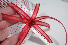 handmade braided trim christmas ornament | DIY