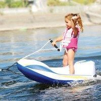 "If your little ones want to pick up water skiing, how do you break their hearts and tell them ""No""? Just like most parents…"