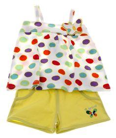 Εβίτα παιδικό σετ μπλούζα-παντελόνι σορτς «Butterfly»  €12,00