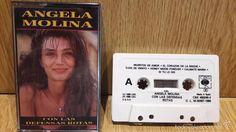 ÁNGELA MOLINA. CON LAS DEFENSAS ROTAS. MC / CBS - 1986 / CALIDAD LUJO.