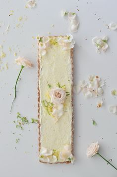 Beautiful lemon tart.