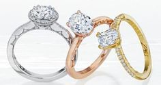 All Tacori Month. Affordable Rings, Wedding Jewelry, Wedding Rings, Fire Heart, Designer Engagement Rings, Diamond Rings, Jewelry Stores, Halo, Vintage Inspired