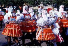 Moravian folk costume in feast Dubnany Czech Republic . Folk Costume, Costumes, Beautiful Patterns, Czech Republic, Folklore, Lush, Faces, Stock Photos, Image