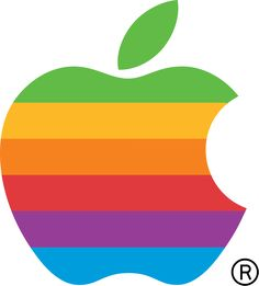 Vintage Apple Computer logo