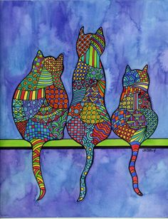 Dogs have Owners Cats have Staff. by carolynstichstudio on Etsy, $15.00