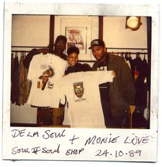 De La Soul / Monie Love - Soul II Soul Shop, Camden, London (1989)