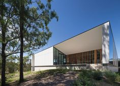Image 11 of 46 from gallery of Australian Plant Bank / BVN Donovan Hill. Photograph by John Gollings Architecture Cool, Architecture Awards, Urban Landscape, Landscape Design, Australian Plants, Metal Buildings, Cladding, Habitats, House Styles