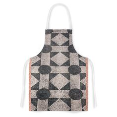 KESS InHouse Susan Sanders 'Mosaic' Beige Black Artistic Apron, 31 by 35.75', Multicolor * Awesome product. Click the image : Bakeware