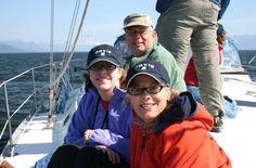 A happy family aboard BOB!