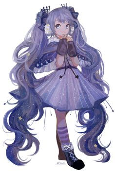 Name: galaxy / Age: 14 / Power: Star / Just adopted by:@littlelambh