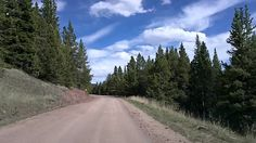Breckenridge & Boreas Pass Road, Colorado Time Lapse Dashcam - great hiking trail (Steve)