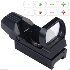 This New Electro-Dot Sight Features Tubeless Design Within 22mm X 33mm Reflex Lens Aperture Provides A Wide Field Of View, Suitable For Rapid-Firing Or Shooting Of Moving Targets Besides Normal Shooting.  #freeshipping