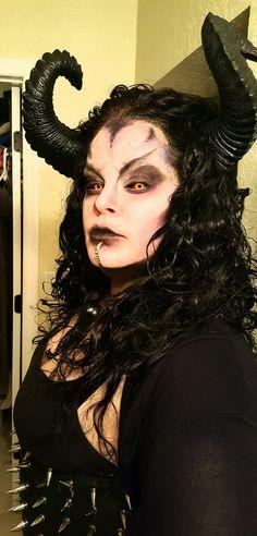 demon makeup by Mandy Palumbo