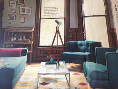 CB2: Atrium Display Cabinet 429 • Avec Chairs 899