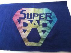 T Shirt Logo  Super Dad by IdleHandsYarnSupply on Etsy, $1.25