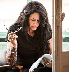 Jules Mann-Stewart is Kristen Stewart's mom. #InkedMagazine #blog #tattooed #relatives #celeb #tattoos
