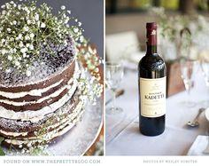 simple wedding cake - DIY - babysbreath - chocolate a naked cake for groom's cake? Diy Wedding Cake, Wedding Desserts, Farm Wedding, Wedding Themes, Garden Wedding, Wedding Ideas, Whimsical Wedding, Elegant Wedding, Boho Wedding