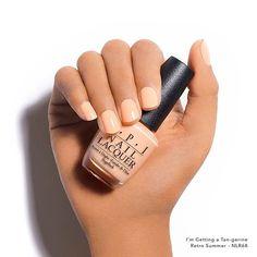 You need a tan in your life. #OPIRetroSummer #ImGettingATangerine