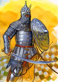 Ottoman Cavalryman- by Johnny Shumate