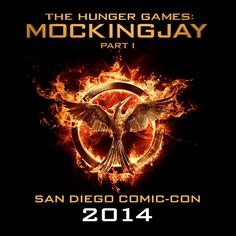Follow @TheHungerGames on Twitter and Instagram for live coverage from San Diego Comic Con! #MockingjaySDCC