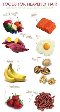 #hair Not only are these foods good for your hair maintenance, however, it's also good for ur health!!!!!