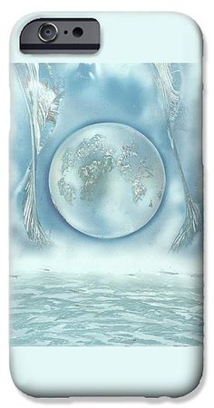Turquoise Dream IPhone 6s Case Printed with Fine Art spray painting image Turquoise Dream by Nandor Molnar (When you visit the Shop, change the orientation, background color and image size as you wish)