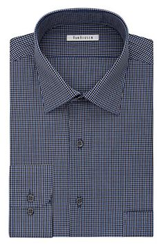 Van Heusen Men's Regular Fit Gingham Spread Collar Dress ... https://www.amazon.com/dp/B01IE24K88/ref=cm_sw_r_pi_dp_x_Bl3oybK80BPNV