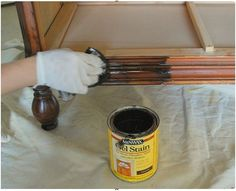 How to prime and restain old furniture