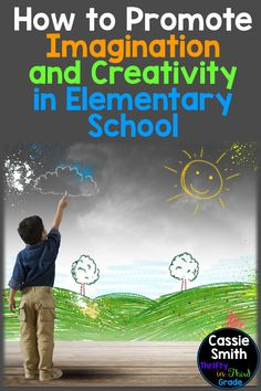 Writing imaginative stories is hard for students these days! This article includes ideas so you can help foster your students' creativity and imaginations in the elementary classroom. Teaching Vocabulary, Teaching Resources, Teaching Ideas, Project Based Learning, Student Learning, 3rd Grade Classroom, Classroom Ideas, School Fun, School Ideas