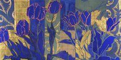 Robert Kushner.  Eight Pink Tulips. Gallery Jerald Melberg