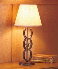 Table Lamp Cast Iron Horseshoe Lucky Lighting Table Lamp Cast Iron Horseshoe Lucky Lighting [SM374069-3HLM] - $34.95 : Smart Saver LLC
