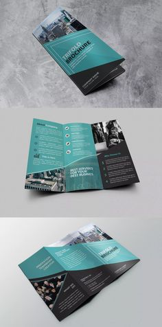 three page brochure template.html