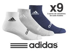 Adidas Pack de 9 Pares de Calcetines