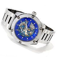 Android Men's Antigravity Tungsten Skeletonized Dial Bracelet Watch ShopNBC.com