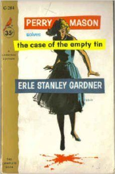 Boek 20 #hrc2016. Perry Mason 19 - The Case of the Empty Tin; Erle Stanley Gardner.
