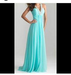 Lovely Aqua dress