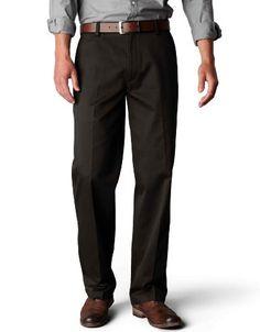Dockers Men's Signature Khaki D2 Straight Fit Flat Front Pant