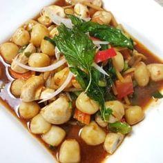 Photo of Thai House Restaurant - Yakima, WA, United States. Spicy Scallops