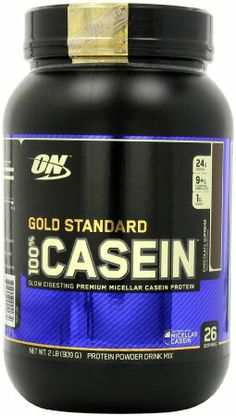 Amazon.com: Optimum Nutrition 100% Casein Protein, Chocolate Supreme 2 Pound: Health & Personal Care
