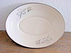 RARE Franciscan Fine China Gladding McBean 034 Brentwood 034 Blue Vegetable Bowl 9 034 | eBay