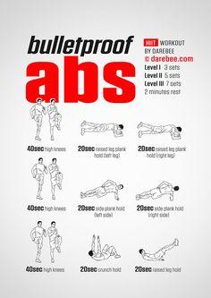 Bulletproof Abs Workout