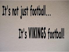 Minnesota Vikings Football NFL Vinyl Wall Art Room Removable Decal Sticker