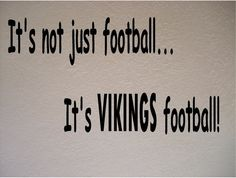 Minnesota Vikings Football NFL Vinyl Wall Art Room Removable Decal Sticker