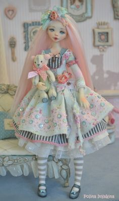 Not crazy about the doll but the dress is pretty