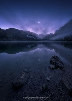 Vorderer Gosausee, Austria by Juan Pablo de Miguel...