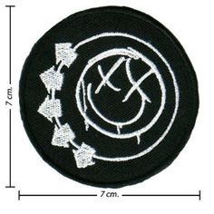 Blink 182 Music Band Logo 1 Embroidered Iron On Patches Free Shipping From Thailand Band Patches, Iron On Patches, Blink 182, Band Logos, Amazon Art, Sewing Stores, Music Bands, Superhero Logos, Sewing Crafts