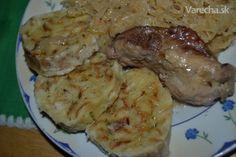 Viedenská knedľa (fotorecept) - recept   Varecha.sk Rice, Chicken, Meat, Recipes, Food Ideas, Recipies, Ripped Recipes, Laughter, Cooking Recipes