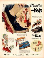 1950s Keds ad