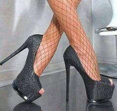 Fashion Sexy Shinning Peep-Toe Platform High Heel Prom Shoes 10955478 - Prom Shoes - Dresswe.Com