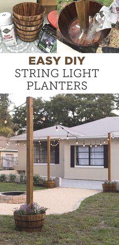 Backyard Projects, Outdoor Projects, Backyard Patio, Backyard Landscaping, Landscaping Ideas, Diy Projects, Diy Patio, Wood Patio, Budget Patio